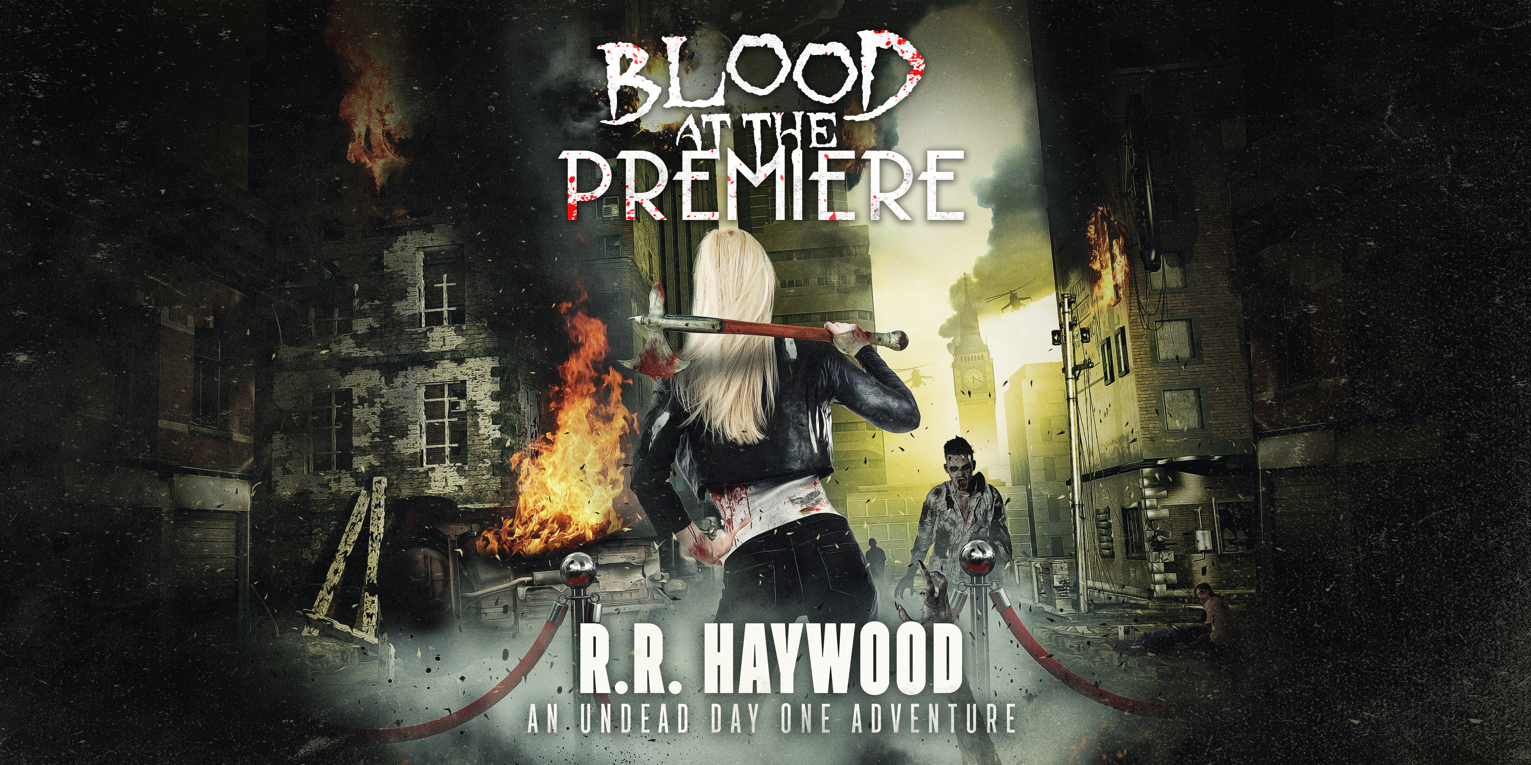 Blood at the Premiere Final